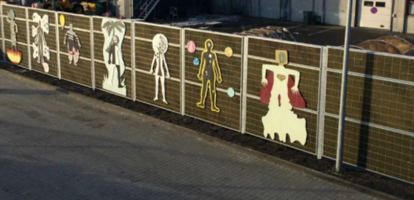 Kunst på genbrugspladsen