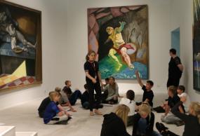 En tur på kunstmuseet Arken er et tilbud under Åben Skole